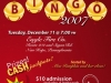 Jingle Bell BINGO 2007