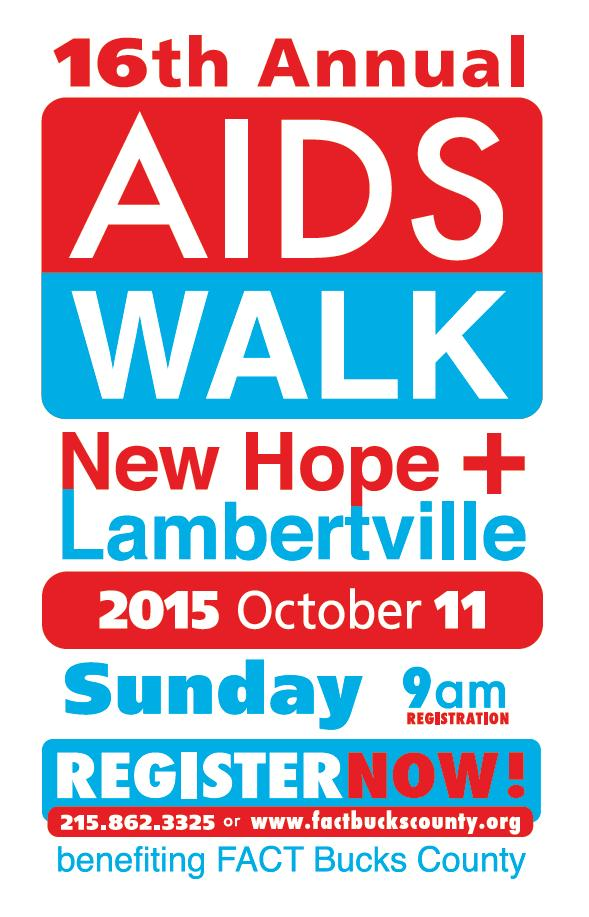 AIDS WALK SAVE DATE 2015