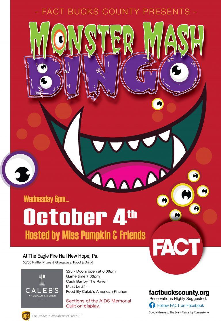 Ghoulish Bingo Event