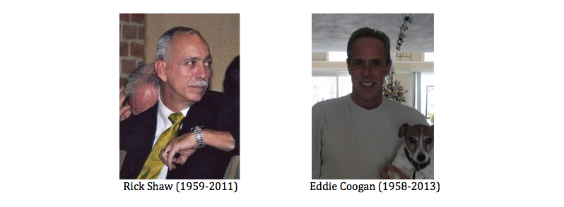 Rick Shaw and Eddie Coogan